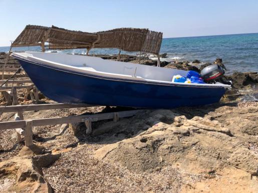Patera arribada este lunes a Formentera.