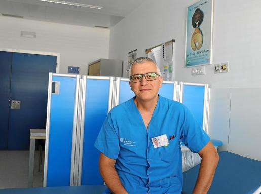 El jefe de Servicio de Dermatología del hospital Can Misses, Andrés Palacios.