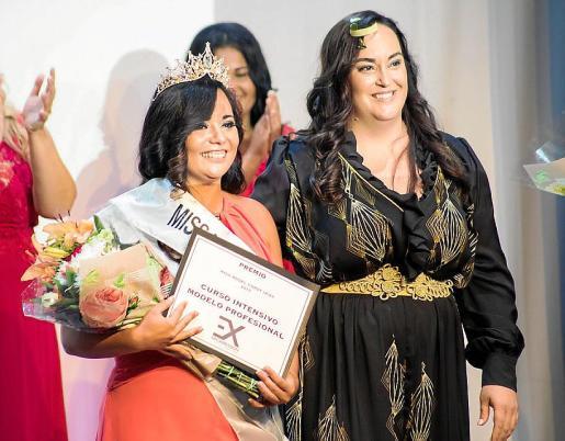 Miss Curvy Ibiza, Miss Rostro Bonito, Miss Pelo Bonito y Miss Dinamismo, Silvia Benítez.