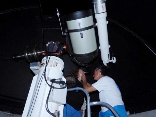 Con esta visita se concluye con los actos organizados para conmemorar la llegada del hombre a la luna.