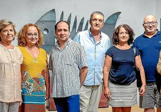 Carme Oliver, Xesca Palou, Xavi Canyelles, Raphel Pherrer, Silvia y Luis Imperiale.