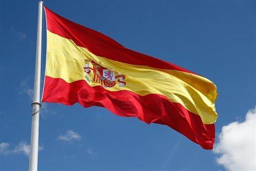 Imagen de recurso de la bandera de España.