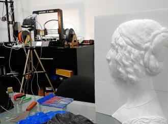 Twin Force: THEA Art for the blind, obras de arte en 3D para disfrute de invidentes