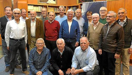 Miembros de SECOT, formada por veteranos emprendedores.