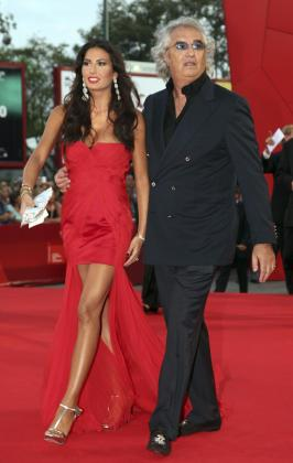 Flavio Briatore y Elisabetta Gregoraci han tenido a su primer hijo.