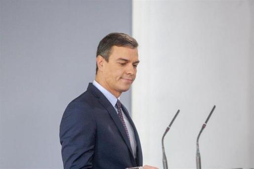 Declaración institucional de Pedro Sánchez tras conocerse la sentencia del 'procés'.