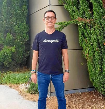 Juanjo Planells, ayer en las instalaciones del Grupo Prensa Pitiusa.
