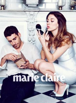 Una de las fotos de Marie Claire.