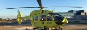 Los sindicatos Simebal y Satse exigen una auditoría a la empresa del transporte aéreo sanitario