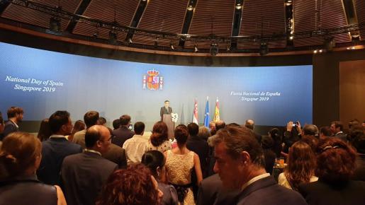 El embajador de España en Singapur.