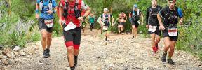 Buen cartel en el Ibiza Trail Maratón