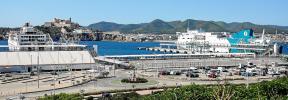 Las navieras empiezan a cancelar sus cruceros en Barcelona y los desvían a Ibiza