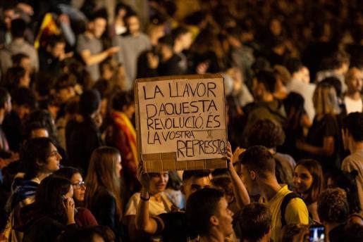Un total de 42 heridos durante las protestas del jueves en Cataluña, menos que en las últimas jornadas.