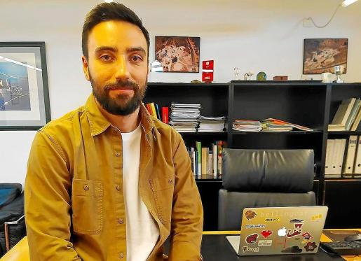 Álvaro Medina es informático y ha trabajado en varias empresas ubicadas en el Parc Bit.