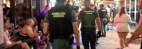 La Guardia Civil realizó 186 detenciones por tráfico de drogas durante el verano
