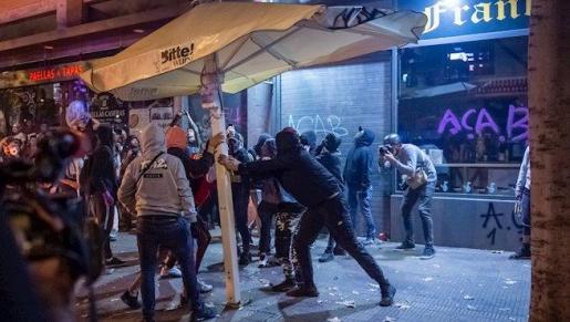 Disturbios en Barcelona - GERMÁN LAMA / EUROPA PRESS
