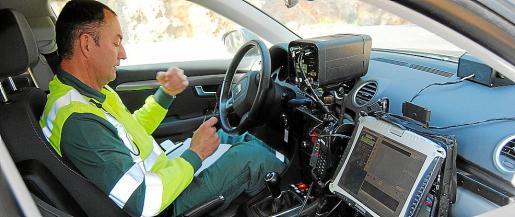 El radar de la carretera Ibiza-Sant Antoni es el que más multas ha puesto este año en Balears.