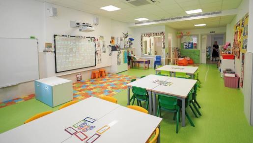 Con la finalización del proyecto, el colegio cuenta ahora con seis aulas de infantil, tres de ellas nuevas.