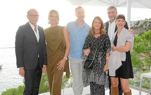 Renato Minotti, Mariana Muñoz, Christophe Delcourt, Fiorella Villa, Paolo Nardini y Lorena Negri.