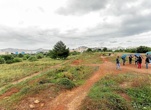 En los terrenos de Ca n' Escandell se proyectan 532 viviendas públicas en régimen de alquiler y un parque público, que serán ejecutadas por el SEPES.