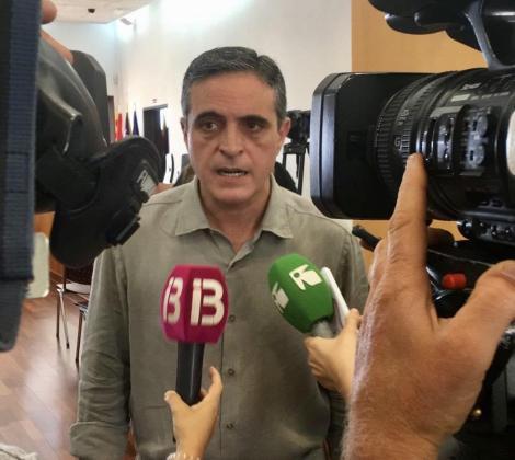 El portavoz José Vicente Marí Bosó.