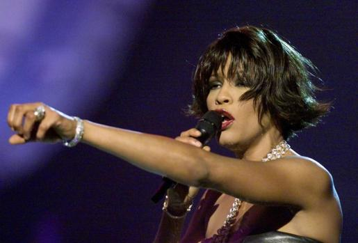 La cantante Whitney Houston.