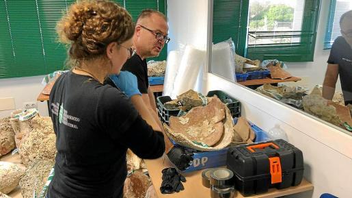Los trabajos los llevaron a cabo técnicos del MAEF en el cuartel de la Guardia Civil de Formentera.