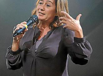 Francina Armengol: «Los galardonados son un ejemplo de la sociedad que somos»
