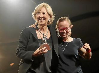Montse Fuster, fundadora y presidenta de Amadip Esment: «Mi hija es mi maestra, me ha enseñado a ver de otra forma»