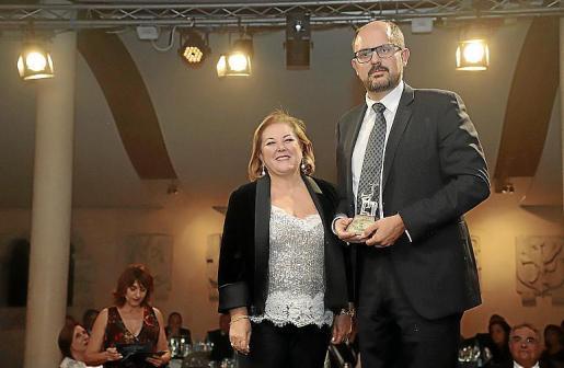 Carmen Dameto, propietaria de Son Termes, entregó el Siurell a Miquel Coll.