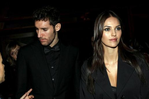 Rudy Fernández y su novia, Helen Lindes, en una aparición pública el pasado mes de noviembre.