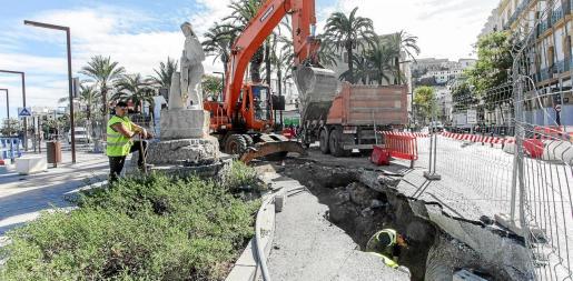 La previsión es que los trabajos terminen a finales de este mes de noviembre.