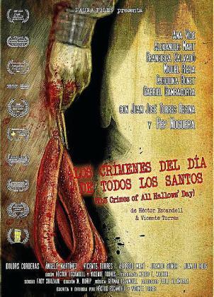 Cartel de la película ibicenca 'Los crímenes del Día de Todos los Santos'.