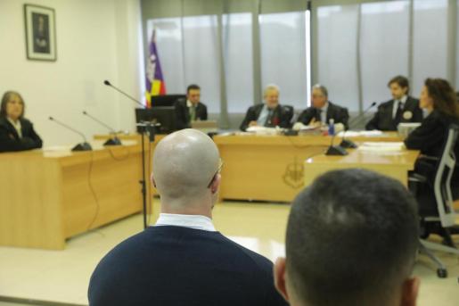 Stephen D.S., durante su comparecencia en los juzgados de Ibiza.