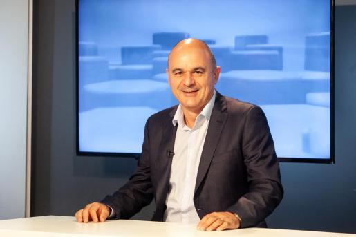 Vicent Marí, presidente del Consell de Ibiza en la entrevista del Bona nit Pitiüses, de la TEF.
