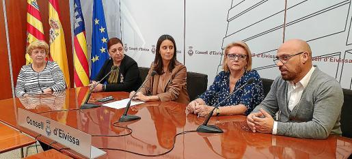 La presentación de los cursos de este año tuvo lugar en el Consell d'Eivissa ayer por la mañana.
