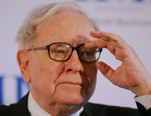 Fotografía de archivo del 19 de mayo de 2008 que muestra al inversor estadounidense Warren Buffett.
