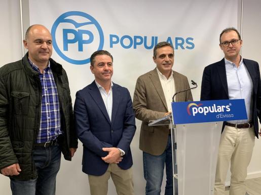 El PP de Ibiza dice que los presupuestos para 2020 «traen más paro, más impuestos y más despilfarro».