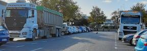 Incivismo de los conductores de camiones