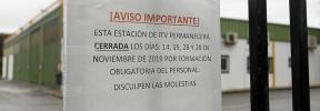 La ITV de Ibiza estará cerrada hoy y los días 28 y 29 de noviembre