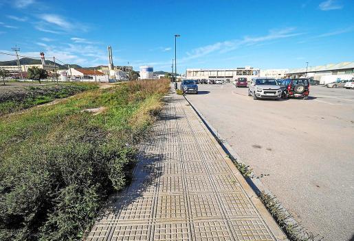 Los propietarios del polígono de es Gorg denunciaron al Ayuntamiento de Eivissa en diciembre de 2017 por un cambio de uso de una parcela del polígono y que implica eliminación de aparcamiento.