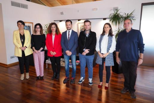 El alcalde de Ibiza, Rafa Ruiz, ha presidido esta mañana en Can Botino la reunión de constitución del Consell de la Capitalitat.