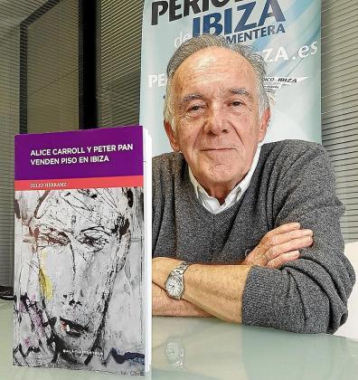 Julio Herranz, ayer por la mañana en el Periódico de Ibiza y Formentera.
