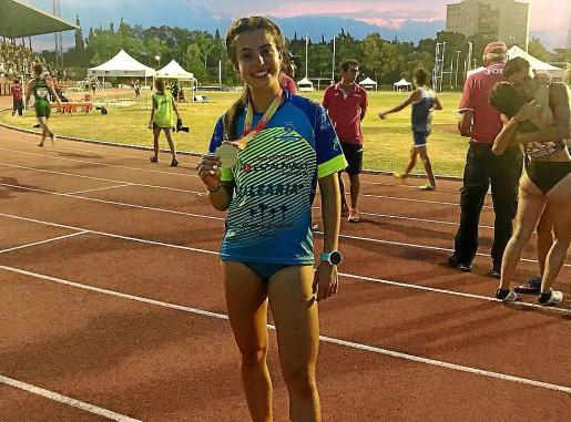 Imagen de archivo de la atleta formenterense Andrea Romero.