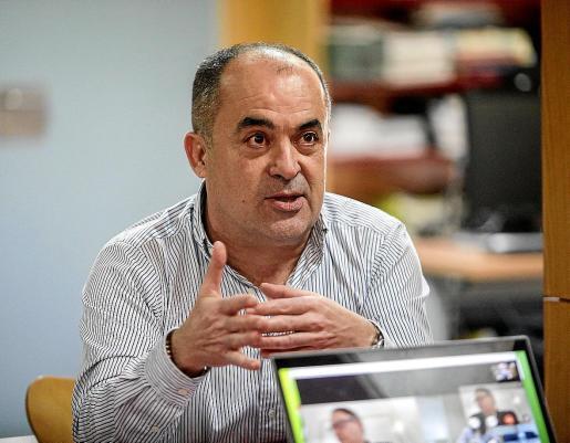 Enrique Durán, en la reunión de la comisión de seguimiento del pasado miércoles en Ibiza.