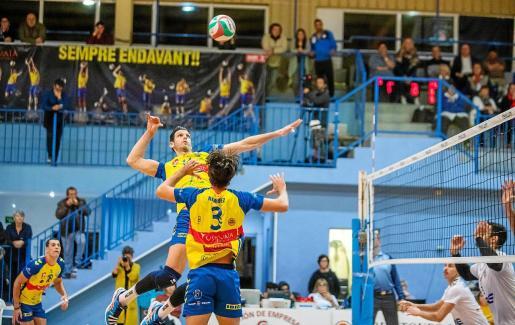 Un lance del último partido disputado en casa del Ushuaïa.