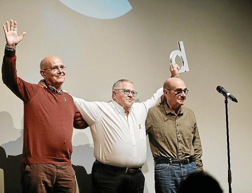 El trío musical UC fue distinguido con el Premi d'Honor.