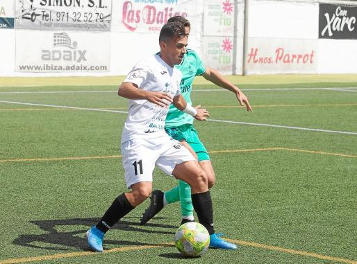 Imagen de archivo de un partido de la Peña Deportiva de esta temporada.