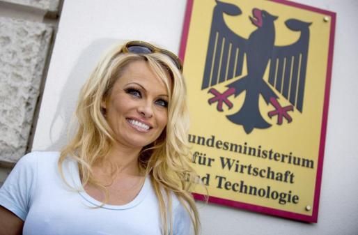 La actriz estadounidense Pamela Anderson, en una imagen de archivo.