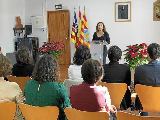 El acto institucional de la Constitución se celebró ayer en la sede del Consell de Formentera.